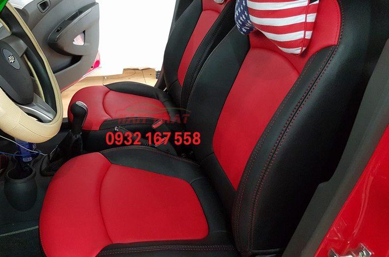 bọc ghế da cho Chevrolet Spark
