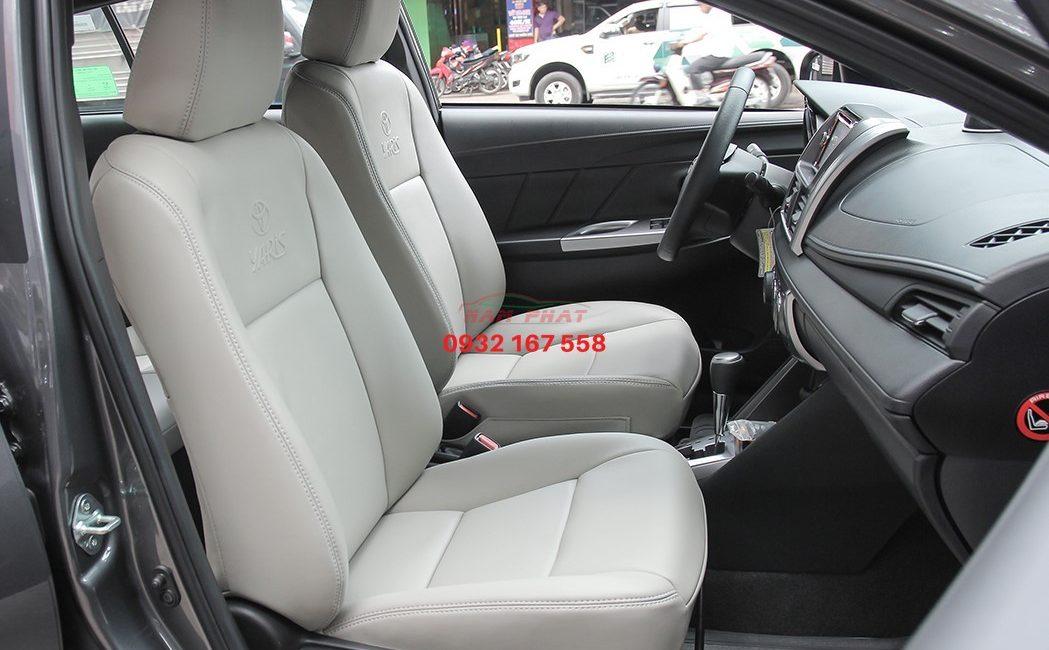 Bọc ghế da Toyota Yaris