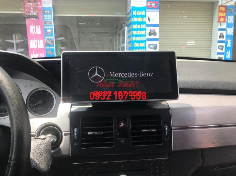 Màn hình Android cho Mercedes GLK 250