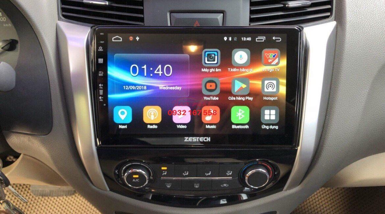 Màn hình Android cho Nissan Navara
