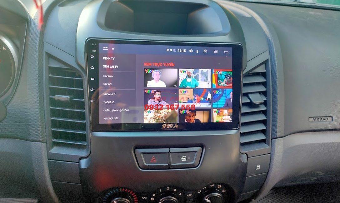Màn hình Android cho Ford Ranger XLS