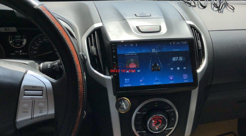 Màn hình Android cho ISUZU Mu-X