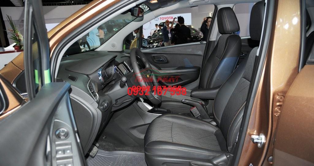 bọc ghế da cho Chevrolet Trax