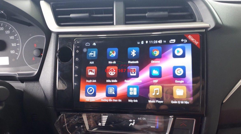 Màn hình Android cho Honda Brio