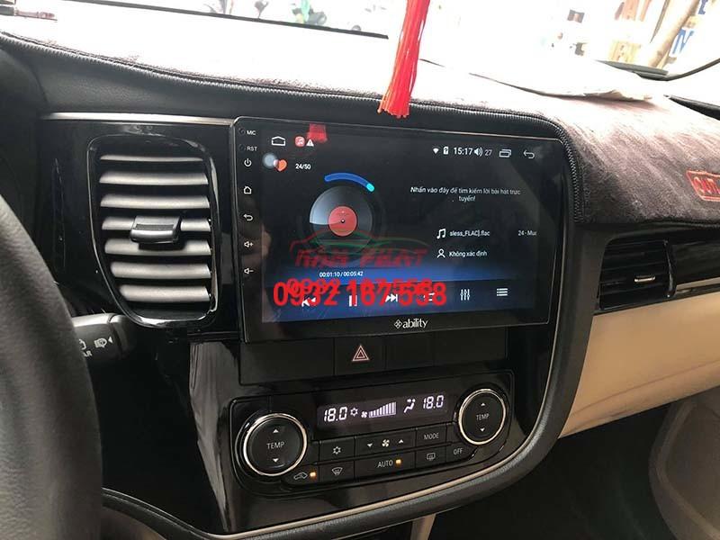 Màn hình Android cho Mitsubishi Outlander
