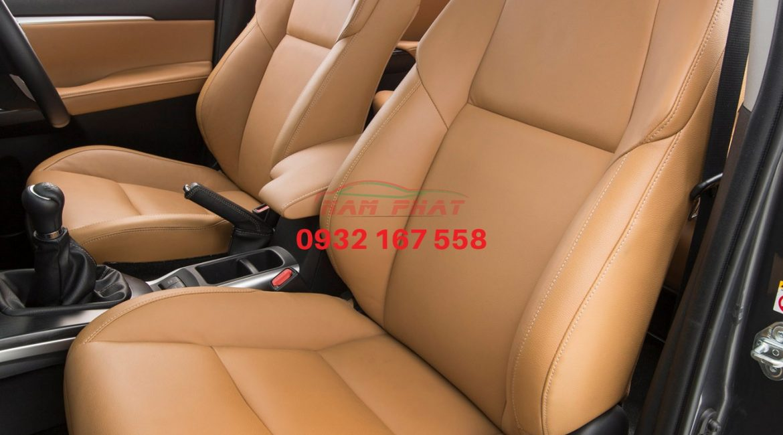 Bọc ghế da cho Toyota fortuner