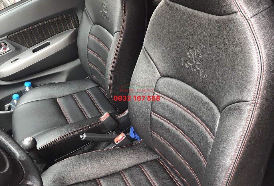 Bọc ghế da cho Toyota Wigo