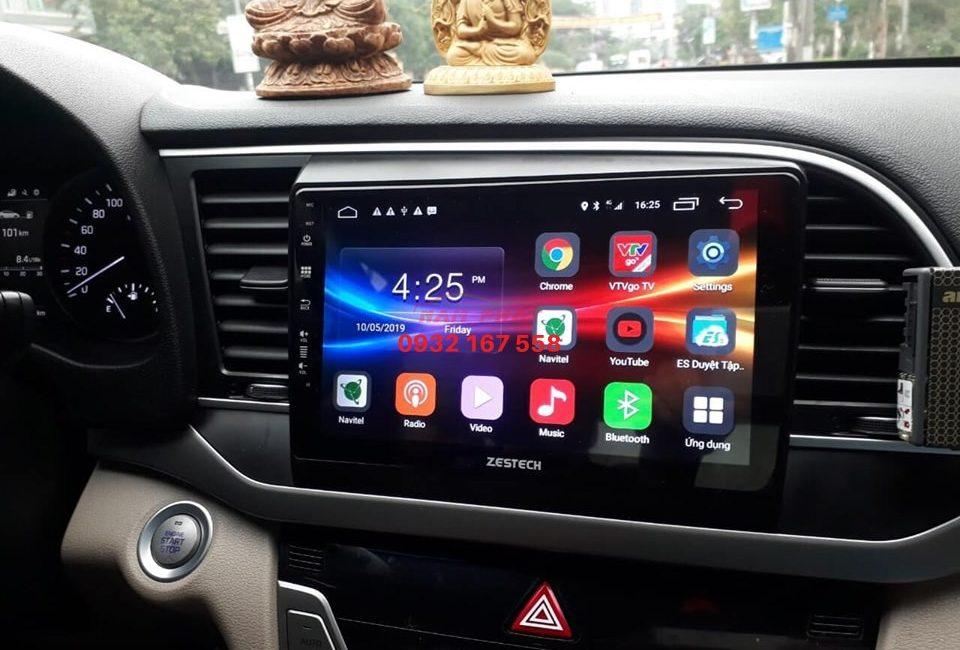 Màn hình Android cho Hyundai Elantra