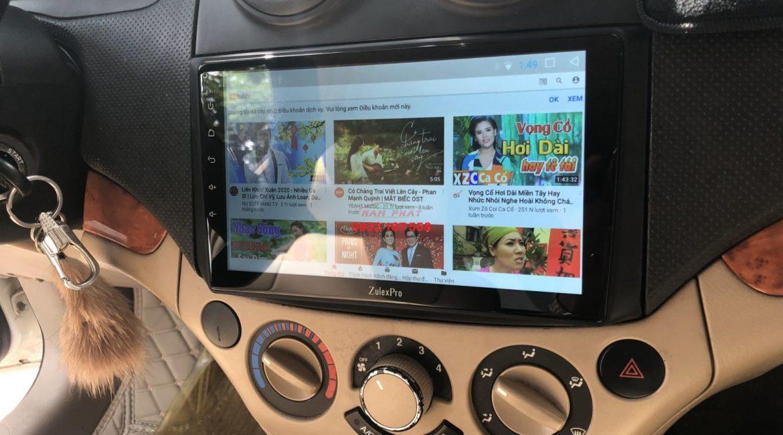Màn hình Android cho Chevrolet Aveo
