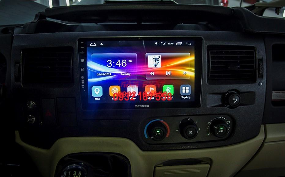 Màn hình Android cho Ford Transit