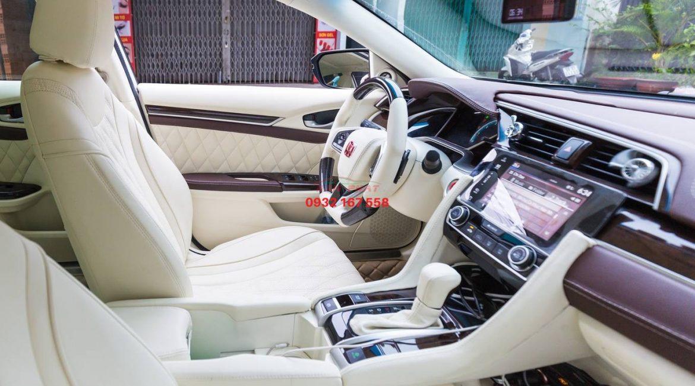 Đổi màu nội thất Honda Civic
