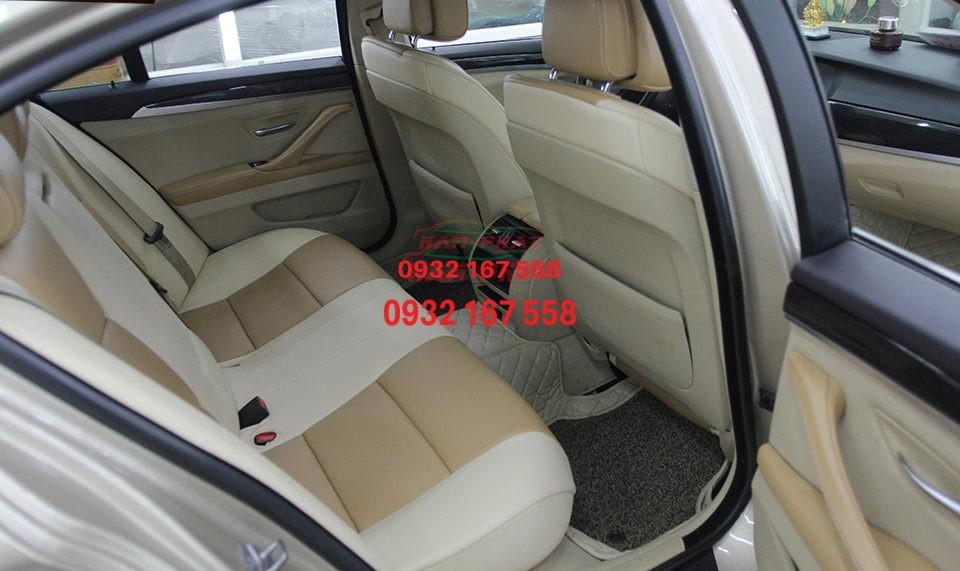 Bọc ghế da cho BMW 520i