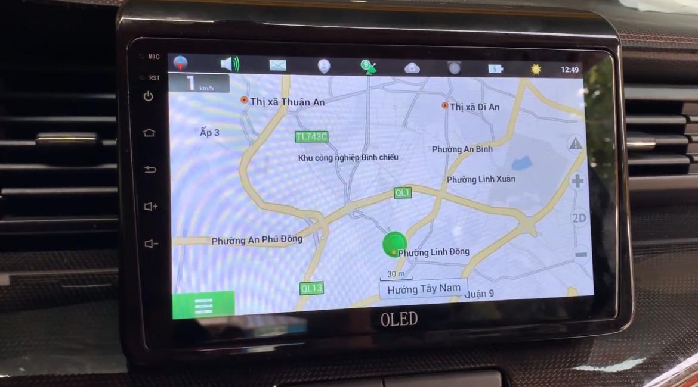 Màn hình Android cho Suzuki XL7