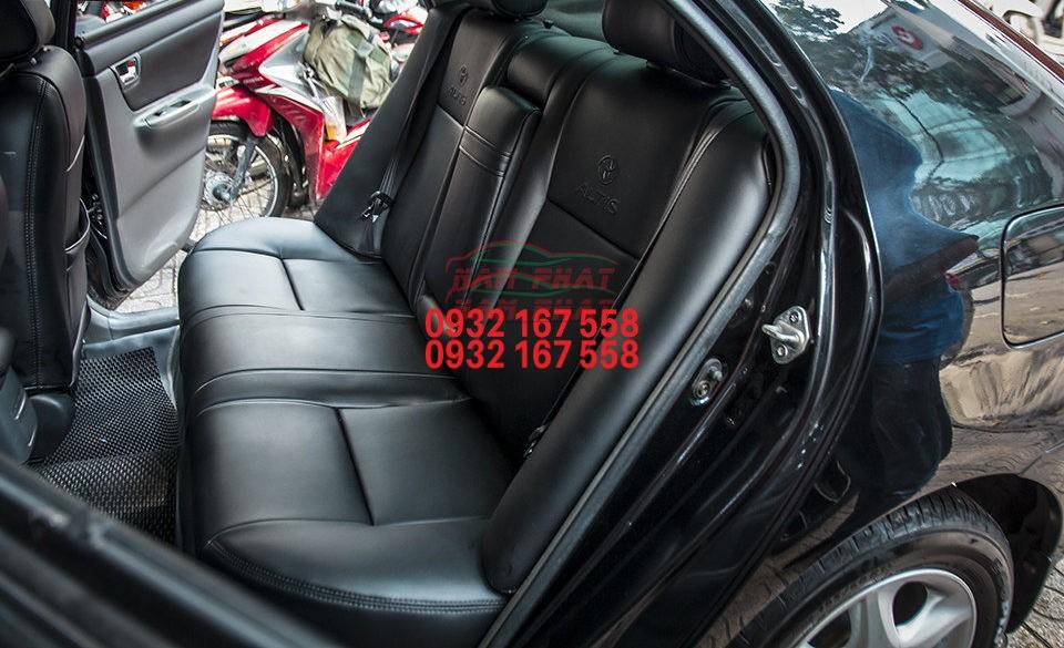 Bọc ghế da cho Toyota Altis