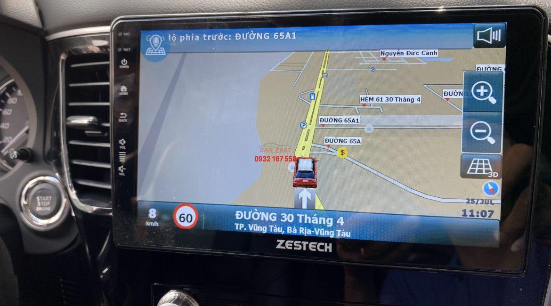 Màn hình Zestech cho Mitsubishi Outlander