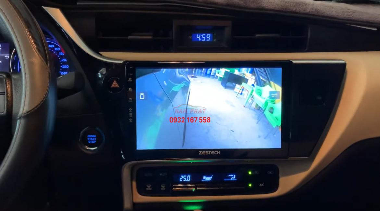 Màn hình Android cho Toyota Altis
