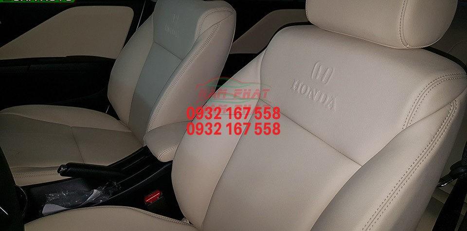 Bọc ghế da cho Honda Jazz