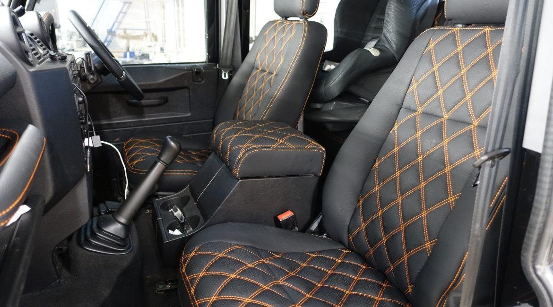 bọc ghế da xe land rover defender