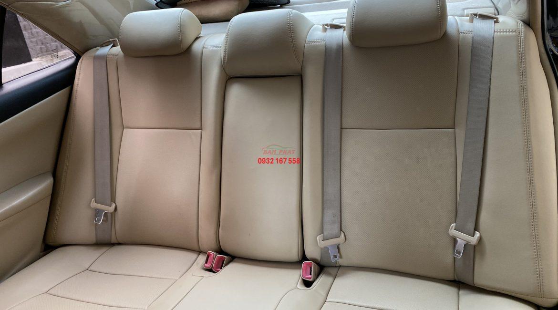 Bọc ghế da cho Toyota Camry