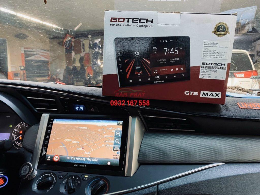 Lắp màn hình Android cho ô tô tại TP.HCM