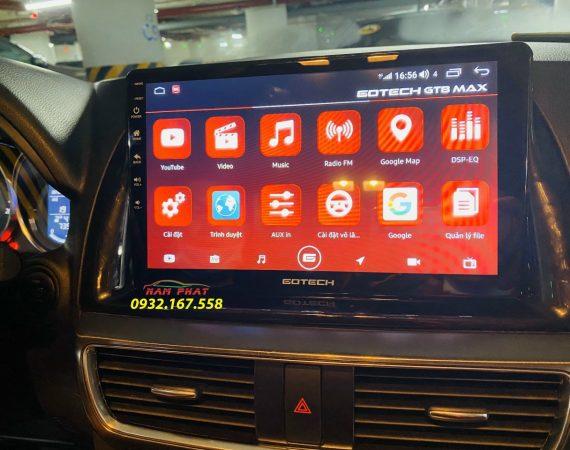 Màn Android ô tô Gotech cho Mazda CX5