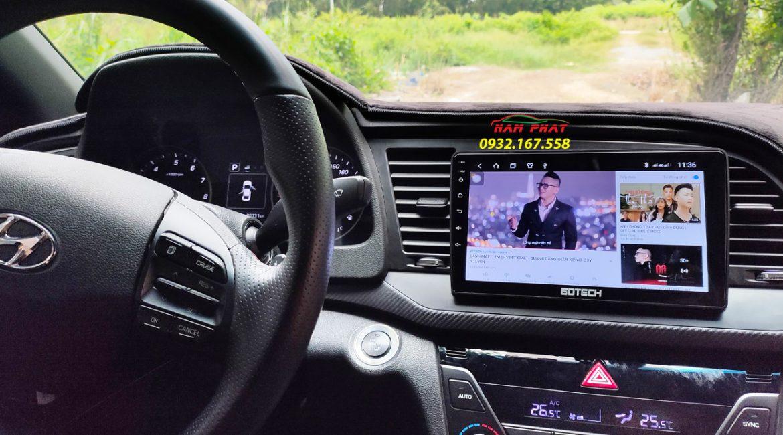 Màn hình ô tô Gotech xe Hyundai Elantra