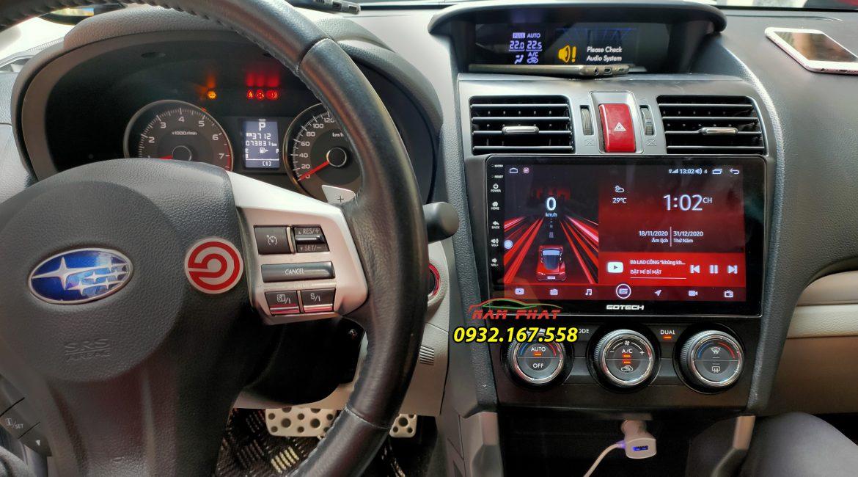 màn hình Android Gotech GT8 Max cho Subaru Forester