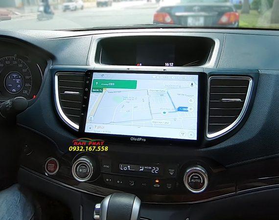 Màn hình Android OledPro X3 trên Honda CR-V